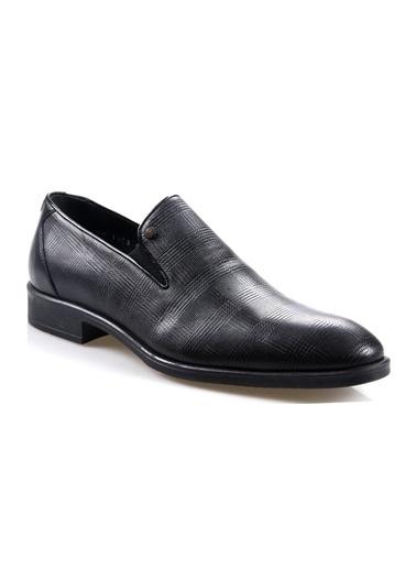 Smart Smart 1453 Siyah Erkek (39-44) Deri Klasik Ayakkabı Siyah